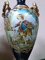 Порцелянові вази 19 століття Севр Франція, фото 3