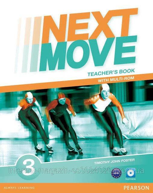 Next Move 3 Teacher's Book with Multi-ROM ISBN: 9781447943624