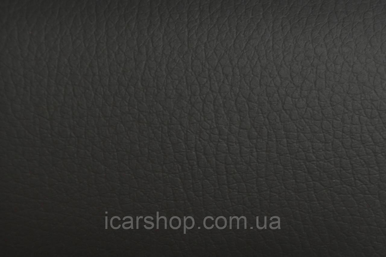 Кожзаменительчёрный на поролоне + войлок  7 мм (1,45 м)