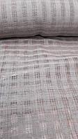 Льняная сетчатая ткань натурального цвета (шир. 165 см), фото 1