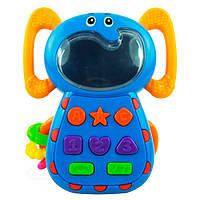 Телефон музыкальный Слон Baby Mix KP-0680A