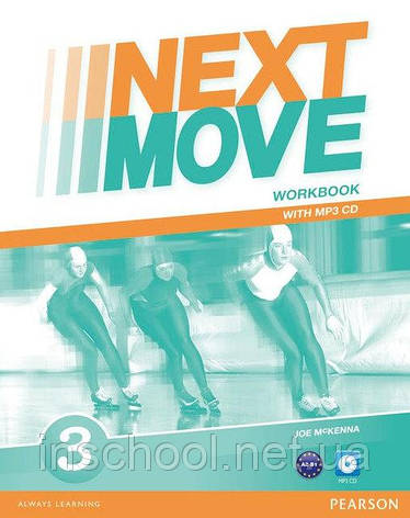 Next Move 3 Workbook + CD ISBN: 9781447943631, фото 2