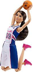 Кукла Барби Баскетболистка Barbie Made to Move The Ultimate Posable Barbie