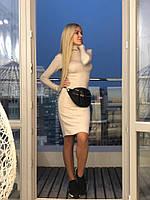 Женское стильное платье-гольф ФЛ1239, фото 1
