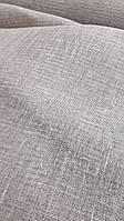 Льняная сетчатая ткань натурального цвета (шир. 145 см), фото 1