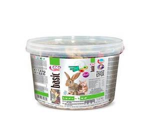 Корм с овощами и фруктами для хомячков и кроликов 2 кг Lolo pets