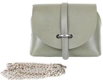 Дизайнерская кожаная сумка GALA GURIANOFF GG1121-28, цвет хаки