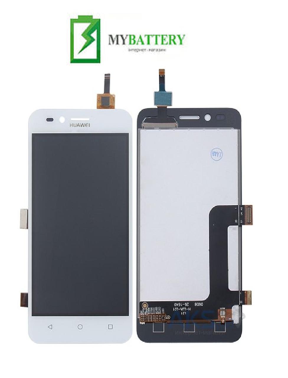 Дисплей (LCD) Huawei Y3 II 2016/LUA-U03/U22/U23/L03/L13/L23 с сенсором белый (версия 3G)