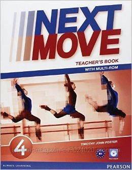 Next Move 4 Teacher's Book with Multi-ROM ISBN: 9781447943655