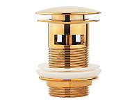 Донный клапан для раковины Newarc 740773G золото