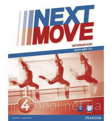 Next Move 4 Workbook + CD ISBN: 9781447943662, фото 2