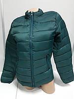 Куртка Женская Демисезонная Болоневая Forever 21 по бокам Вставки