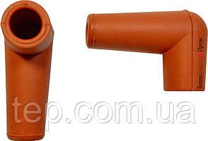 Кутовий силіконовий ізолятор для високовольтних проводів арт. Cofi 17G0172605