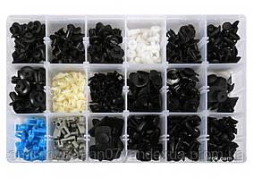 Шпинки для автосалоної обшивки MAZDA YATO, різні, 18 типорозмірів, 475 шт.