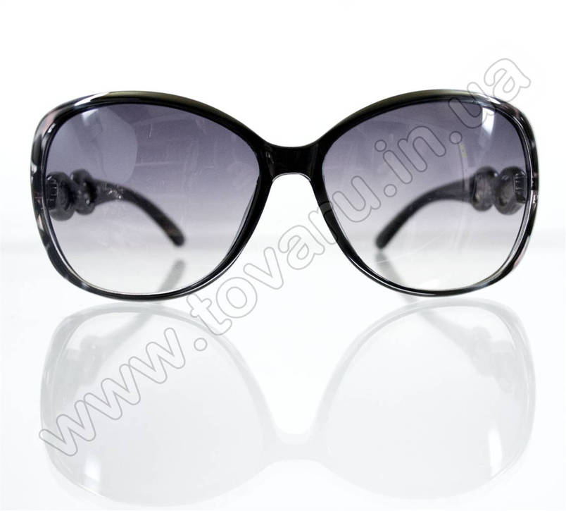 Очки женские солнцезащитные - Черные - 5941, фото 2