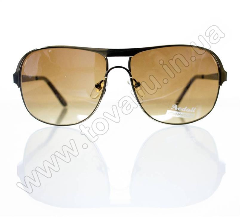 Окуляри чоловічі сонцезахисні - Коричневі - 8749, фото 2