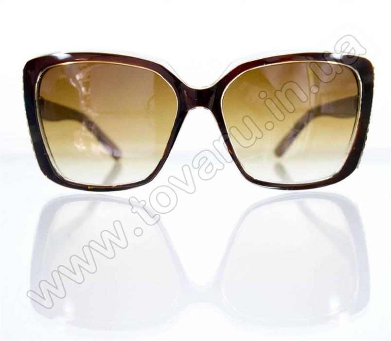 Оптом Очки женские солнцезащитные - Коричневые - 5948, фото 2