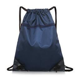 Рюкзак-мешок спортивный темно-синий