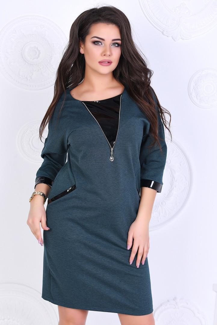 Женское модное платье ВЛ1115(бат)