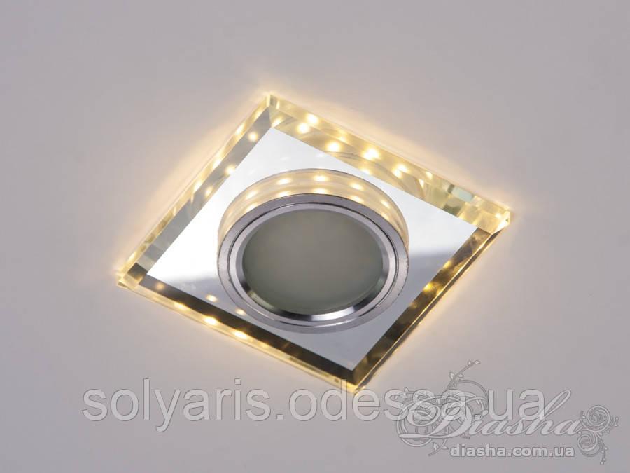Точечный светильник LA1723C с LED подсветкой 6017