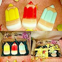 Набор сувенирного мыла 《Цветные карандаши》