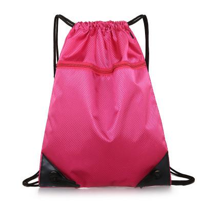 Рюкзак-мешок спортивный розовый