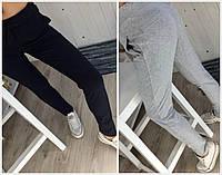 Узкие трикотажные спортивные штаны 17727, фото 1