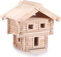Деревянный конструктор Имение 106 деталей