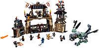 """Конструктор Ninja """"Печера драконів"""" 1714 деталей, фото 1"""