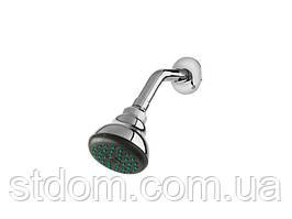 Верхній душ з настінним утримувачем Newarc Rose 470411 хром
