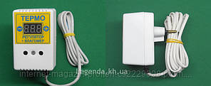 Цифровой терморегулятор + влагомер ЦТРВ-1