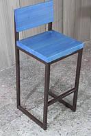 Барный стул со спинкой