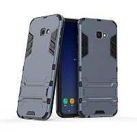Чехол для Samsung J415 / J4 Plus 2018 Hybrid Armored Case темно-синий