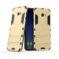 Чехол для Samsung J415 / J4 Plus 2018 Hybrid Armored Case золотой