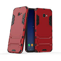 Чехол для Samsung J415 / J4 Plus 2018 Hybrid Armored Case красный