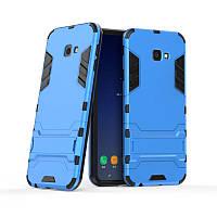 Чехол для Samsung J415 / J4 Plus 2018 Hybrid Armored Case голубой