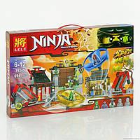 Конструктор NJ 79349 (12/2) Аэроджитцу: Поле битвы 694 деталей, в коробке