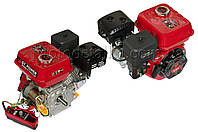 Двигатель м/б   168F   (6,5Hp)   (полный комплект) (электростартер, вал Ø 20мм,  под шпонку) .