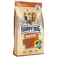 Happy Dog Premium Natur Croq Rind & Reis 15 кг -  сухой корм для собак с говядиной и рисом