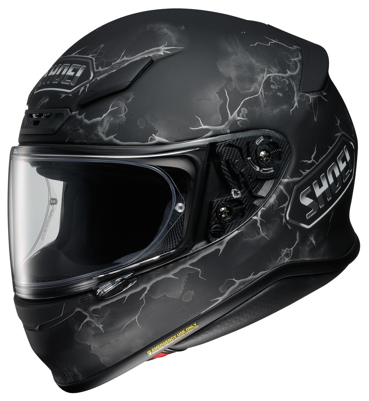 Шлем Shoei NXR Ruts TC-5 черный, XS