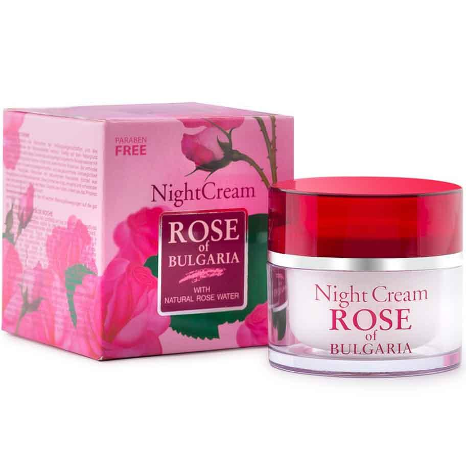 Крем для обличчя BioFresh Rose of Bulgaria Нічний без парабенів 50 мл