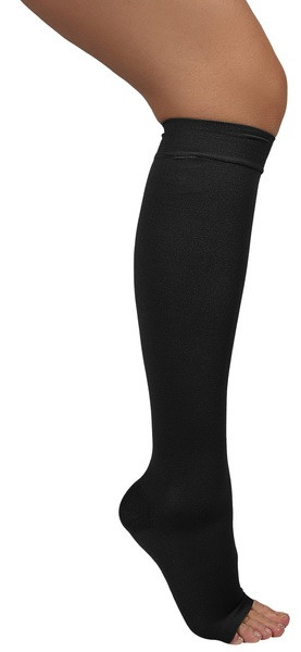 Компрессия ARMOR ARS01 Гольфы откр. носок ІІ, Size 3, черн.
