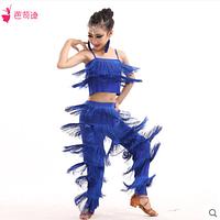 Детские латинских костюмов для танцев одежда