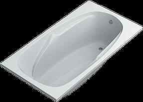 Прямоугольные ванны ТМ SWAN