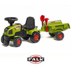 Трактор педальный FALK  CLAAS 1012C + Песочный набор