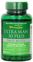 Puritan's Pride Ultra Man 50 Plus 60 tab, фото 1
