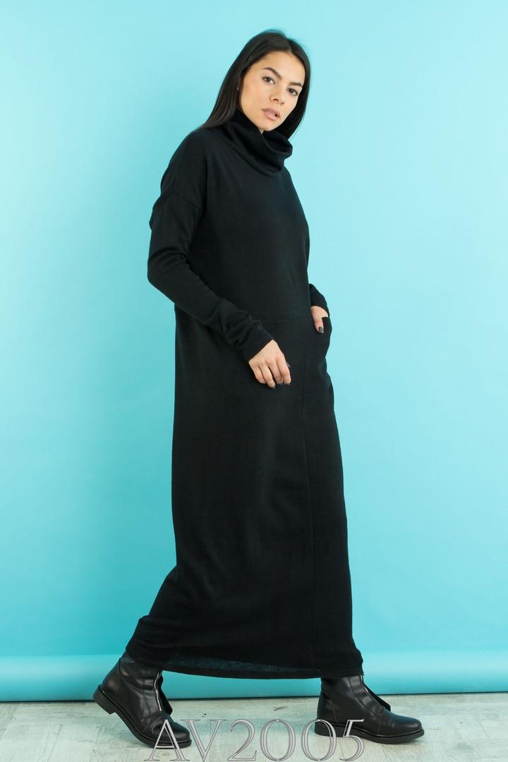 Женское модное платье-гольф ВЕН0087