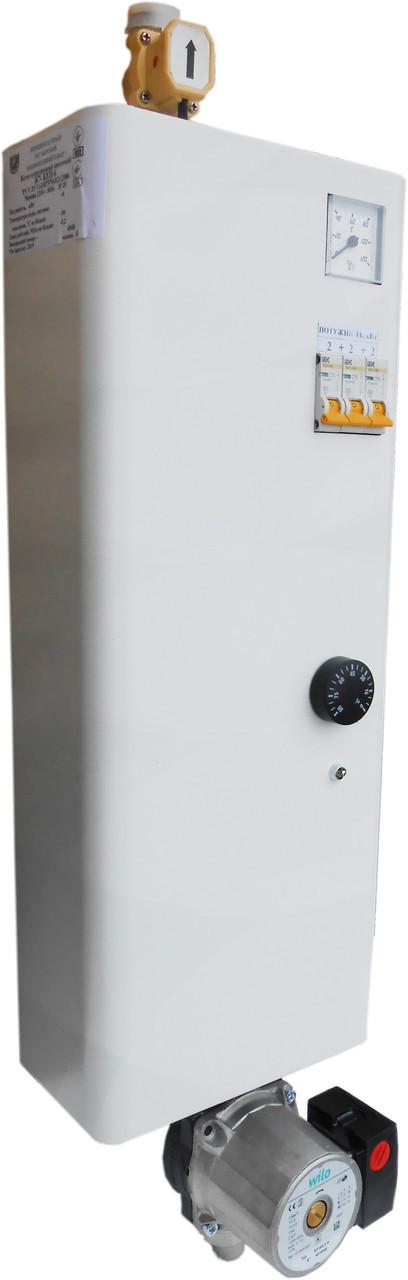 Электрический котел Термобар Ж7-КЕП-4,5 Н (с насосом)