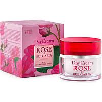 Дневной крем для лица без парабенов Rose of Bulgaria, 50 мл