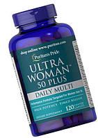 Puritan`s Pride Ultra Woman 50 Plus Multi-Vitamin 120 Caplets, фото 1
